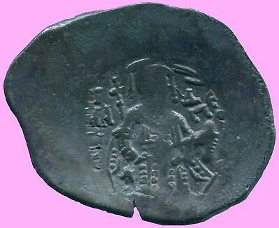 AUTHENTIC BYZANTINE EMPIRE  Aspron Trache Coin  3.23 g/30.69  mm BYZ1019.13