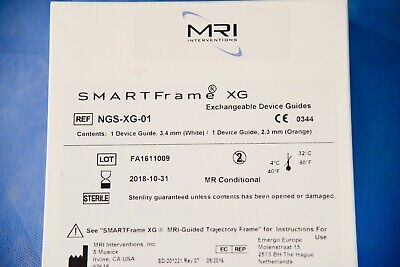 MRI Interventions NGS-XG-01 SMARTFrame XG Exchangeable Device Guides