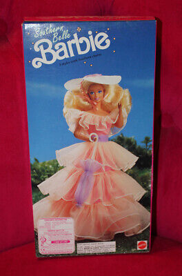 NRFB BARBIE Doll SOUTHERN BELLE Tiered Gown SEARS SPECIAL EDITION Vintage 1991