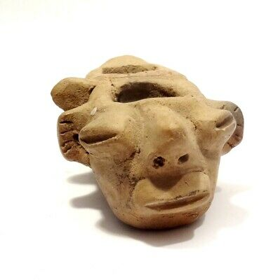 Receptacle Votif Precolombien Teotihuacan - 200Bc/400Ad - Pre-Columbian Pottery