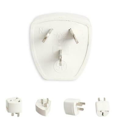 Travel Portable Converter UK to AU Australia Power Socket Plug Adapter New