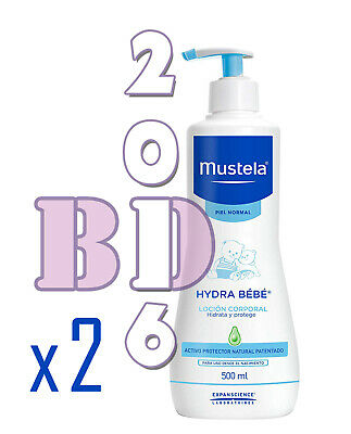 2x Gentle Cleansing Gel Mustela Baby Skin Hair Body Cleanser Hypoallerg. 500ml_1
