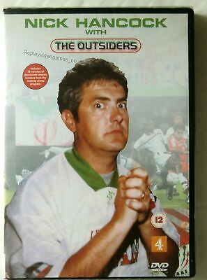 64129 DVD - Nick Hancock With The Outsiders [NEW & SEALED]    DVD 2022