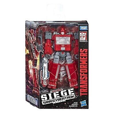 (In-Hand) Transformers SIEGE WFC War For Cybertron W2 Deluxe Ironhide Figure New