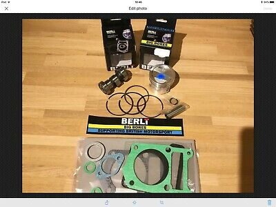 New Scorpa TYS125 4T  150cc 57.5mm Big Bore Piston Kit Gaskets & Performance Cam