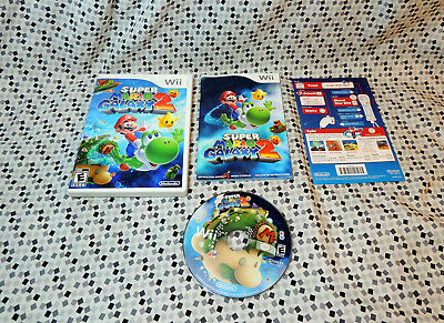 Super Mario Galaxy 2 (Nintendo Wii, 2010) complete Free Fast Shipping