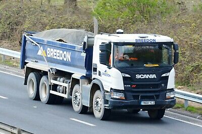 NIKON 6 X 4 Truck Photo  Scania Bulker R500 Dbh Free Post