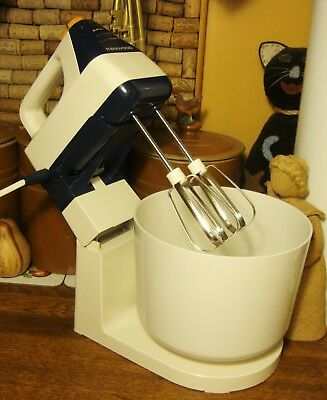 Vintage Kenwood Mini Chef Hand Mixer Stand And Bowl - In Superb Used Condition