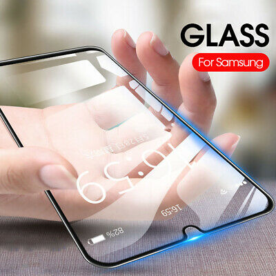 2x Real 9D Tempered Glass Screen Protector Film Guard For Samsung Galaxy A30 A50