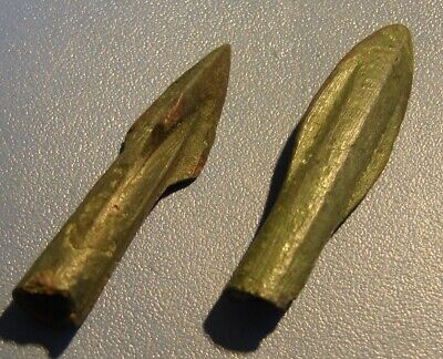 Ancient  arrowheads  bronze. RARE. ORIGINAL