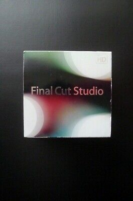 Apple Final Cut Studio 3 HD Pro 7 MB642Z/A Boxed DVD Version + NEXT DAY DELIVERY