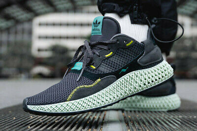 b565dd454 Adidas ZX 4000 4D Carbon Black Size 11 BD7865 Futurecraft SOLD OUT - LIMITED