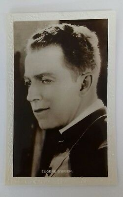 "MOVIE POSTCARD - Actor Eugene O'Brien 5.5""X3.3"" Vintage B/W Postcard Photographs"