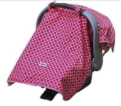Padalily Infant Car Seat Canopy Cover Blanket, Ring Pink NEW NIP
