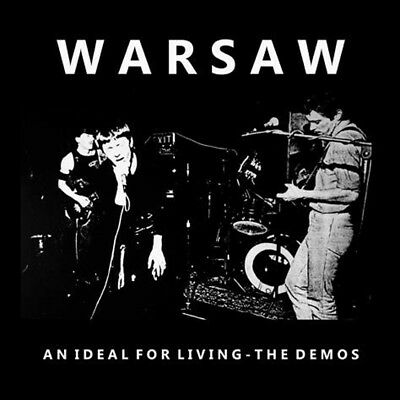 WARSAW - An Ideal For Living: The Demos vinyl lp 2018 pressing lively youth