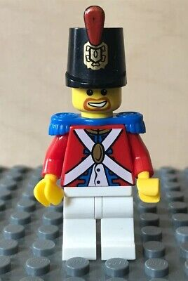 NEW Lego Pirates Imperial SOLDIER MINIFIG TORSO Blue Red Captain Admiral Uniform