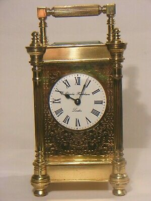 Antique Charles Frodsham Carriage Clock Brass