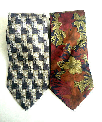 100% Silk Men's Tie, Made in USA, Christian Dumas, Cellini Collection, Silk Ties