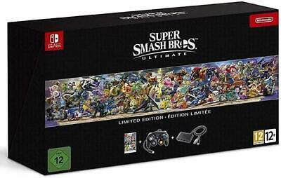 Super Smash Bros Ultimate Limited Edition Bundle Nintendo Switch