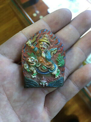 Mongolian ANTIQUE Buddhist Old Tsa tsa 18c-19c (RARE)