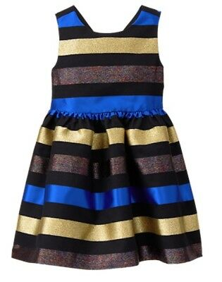NWT Gymboree Fun and Fancy Striped Dress Girl Holiday Christmas Many Sizes