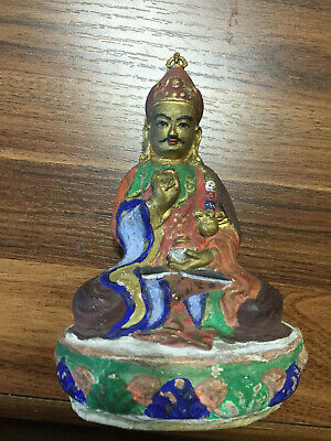 Mongolian ANTIQUE Buddhist Old PAPER MACHE Lovon 18c-19c (rare)