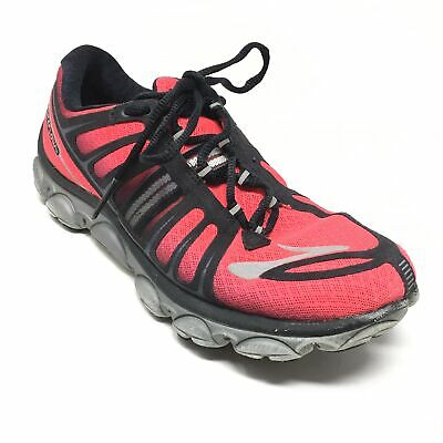 b33ba8db7bcb1 Women s Brooks Pure Flow 2 Running Shoes Sneakers Size 8B Pink Black Gray  AF11