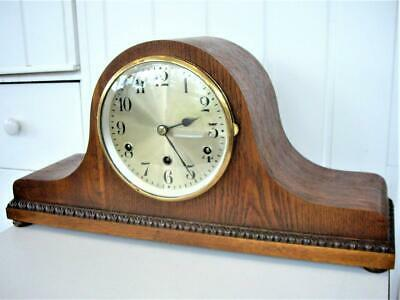 Large Westminster Chime Napoleon Mantel Clock - Restored.