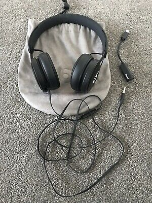 Authentic Beats By Dr Dre Ml992Zm/A Beats Ep Black Headphones - New Without Box