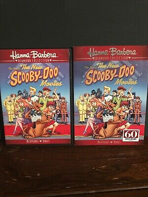 The Best of the New Scooby-Doo Movies (DVD, 2017, 3-Disc Set) Like New Slipcover