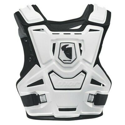 Thor Sentinel Motocross MX Body Armour Adult White