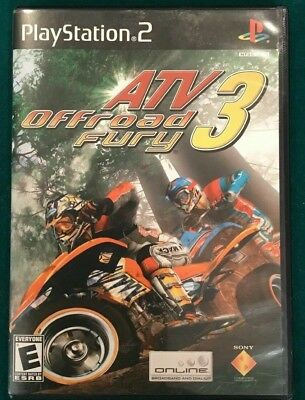 ATV OFFROAD FURY 3 (Sony PlayStation 2) PS2 GAME DISC & CASE