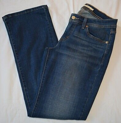 2e0e1d6ff27 Levi's Women's 529 Curvy Bootcut Jeans Size 8 Dark Wash Denim Stretch