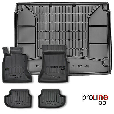 Tappetini e Vasca Baule PRO LINE 3D Seat Leon III ST 2013 in poi