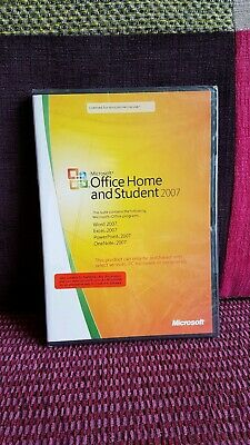 MS Microsoft Office 2007 Home and Student for 3 PCs Full OEM English Version