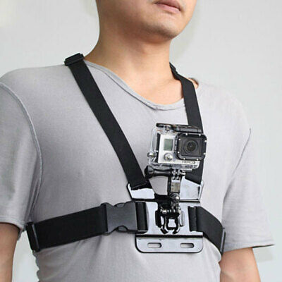 For Camera GoPro HERO7/6/5/4/3+/3 Body Harness Chest Belt Strap Mount