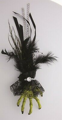 Victorian Trading Co Halloween Witch Hand Hair Clip