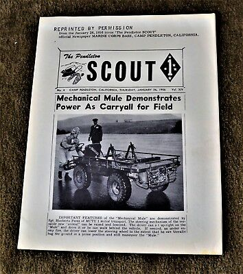 VTG 1956 Mechanical Mule Willys Jeep M274