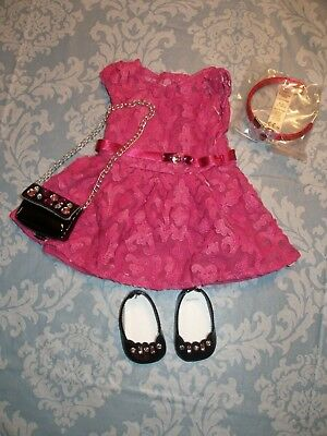 American Girl Merry Magenta Outfit - Retired - NIB