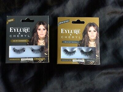 7a9e39ff750 CHERYL LASHES BY Eylure Girls Night Ladies Adhesive Easy Reusable ...