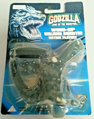 GODZILLA - King Of The Monsters Wind-Up Walking Figure Sealed 1994 Trendmasters