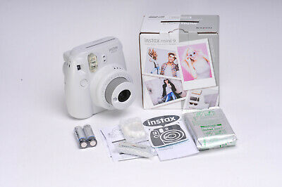 Fujifilm Instax Mini 9 with one pack of film Smoky White - Unused