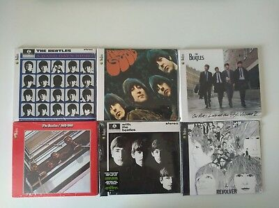 The Beatles / Lotto 6 Cd / Nuovi Sigillati Ristampe Cartonate - Revolver...
