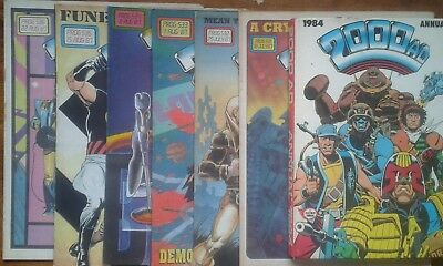 2000 AD annual 1984 +6 2000AD comics from 1987 prog: 531,532,533,534,535,536