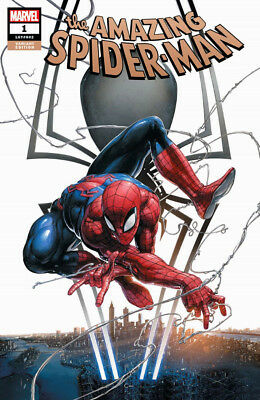 AMAZING SPIDER-MAN #1 Clayton Crain Variant Cover Marvel 1st Print New NM