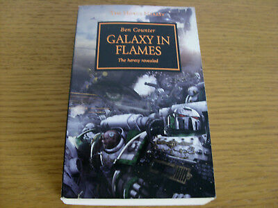 THE HORUS HERESY Black Library Warhammer 40k Galaxy In Flames