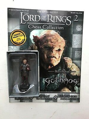Lord of the Rings chess collection 43 Fell Beast Eaglemoss Figure black rook