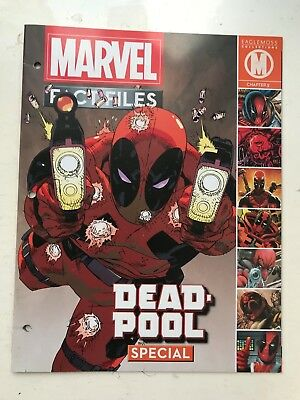 Marvel Fact Files Collection - Special Issue Deadpool - Eaglemoss Magazine