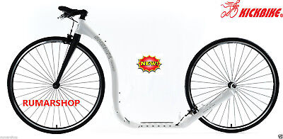 Wow New Nieuw Original Kickbike Race Max 28 White Scooter Step