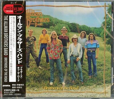 Allman Brothers Band-Brothers Of The Road-Japan CD C41